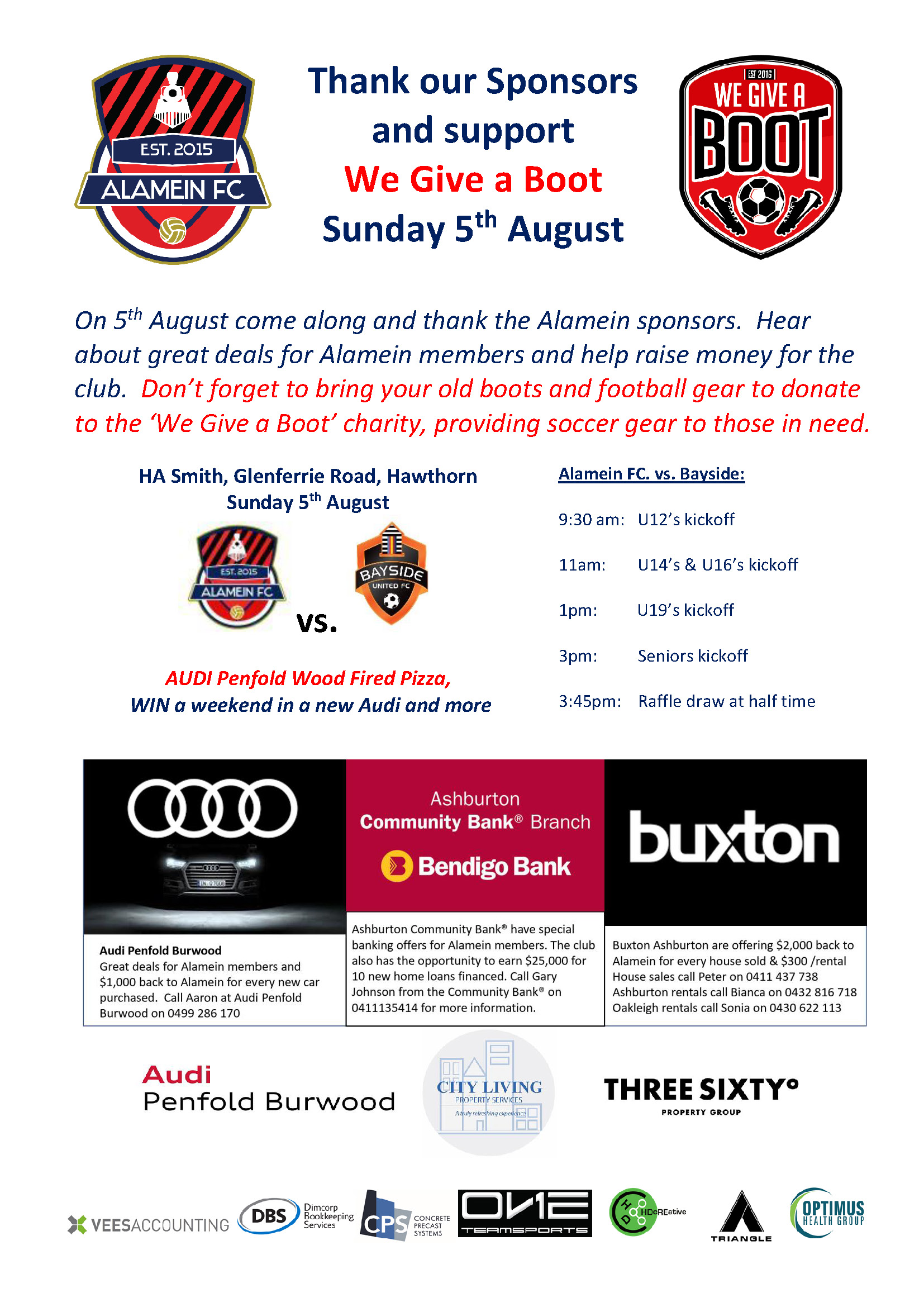 Sponsors Day 05Aug18 FLYER