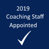 2019 coaching staff appointed